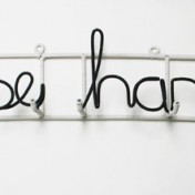 WIRE WALL WRITING – Please hang me