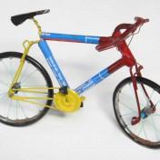 TIN BICYCLE – Blue