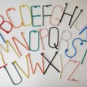 Wire Alphabet A-Z