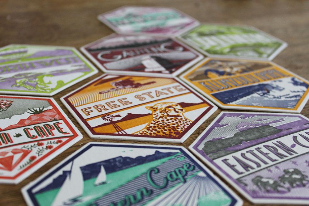 essie letterpress - coasters 3