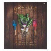 Grow To Live Gardening Book