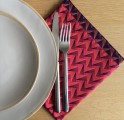 REVERSIBLE SHWE-SHWE NAPKINS (Set of 4)