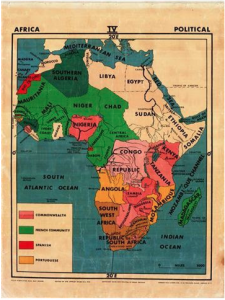 African Map – Political
