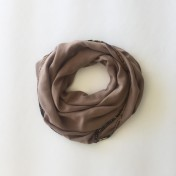 AFRICAN EDGE SCARF – Light Brown