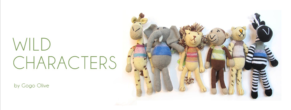 bonsela.co.za – Knitted Wild Characters
