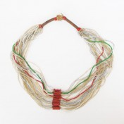 NUPE TRIBE NECKLACE – Transparent Beads