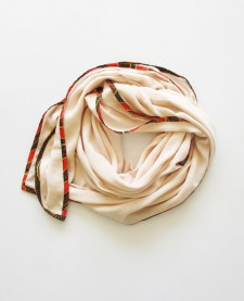 AFRICAN EDGE SCARF – Coral