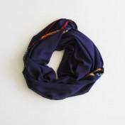 AFRICAN EDGE SCARF – Purple