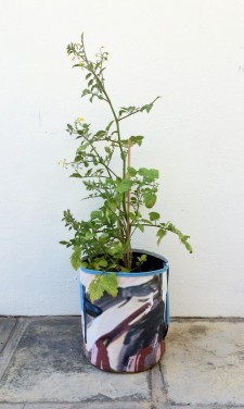 Upcycled planting container – Size L (high) – Growbag