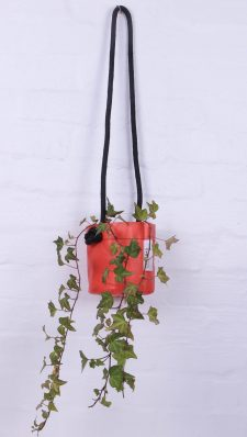 Upcycled hanging planter – Size Small – Growbag