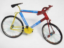 TIN BICYCLE – Blue