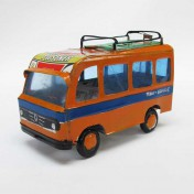 TIN ORANGE VAN