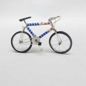 TIN BICYCLE – White