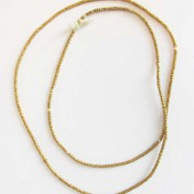 GOLD BEADS NECKLACE – M