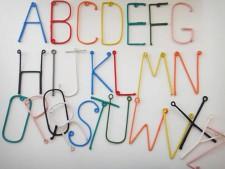 Wire Alphabet – Letter