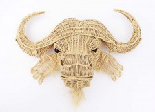 Wire Animal Trophy Head – Buffalo