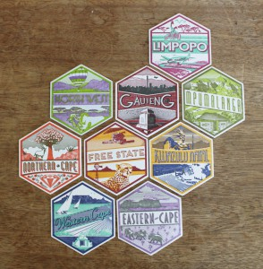 essie letterpress - coasters 2