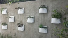 Upcycled wall garden planter – Pocket – Growbag