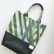 Upcycled Billboard Vinyl Shopper Bag – Regular