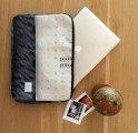 Upcycled Billboard Laptop Sleeve – 15 inch