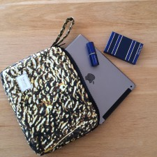 Upcycled Billboard Ipad Sleeve – Made To Order