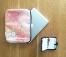 Upcycled Billboard Laptop Sleeve 13 inch – Made To Order