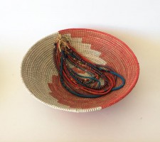 Senegal Basket – Red/White