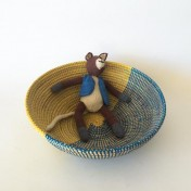 Senegal Basket – Blue/Yellow