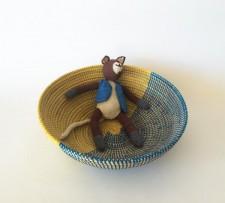 Senegal Basket – Blue/Yellow