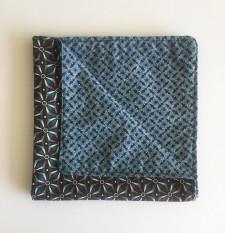 Reversible ShweShwe Napkins – Set of 2 – Blue