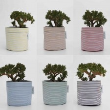 Bespoke Stripes Planting Container Bag – Size Medium – Growbag