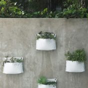 Upcycled wall garden planter – Single Pocket – Growbag