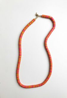Coconut Necklace – Pink Orange Yellow (Duplicate)