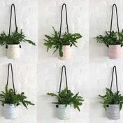 Bespoke Stripes – Planting Container Bag – Size Small – Hanging – Growbag